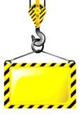 Gancho de la grúa Imagen de archivo libre de regalías
