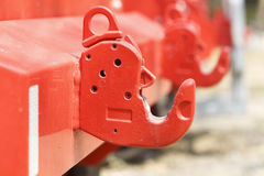 Gancho de la remolque del camión del bombero Imagenes de archivo