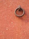 Gancho de leva de la pared Foto de archivo libre de regalías