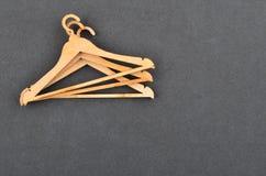 Gancho de roupa no cartão foto de stock royalty free