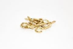 Gancho del oro imagen de archivo libre de regalías