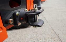 Gancho del remolque para el vehículo industrial Foto de archivo