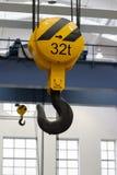 Gancho do guindaste aéreo Fotografia de Stock Royalty Free