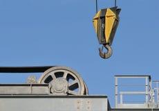 Gancho e wheel-2 Imagens de Stock