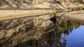 Gancho en el río Imagen de archivo libre de regalías
