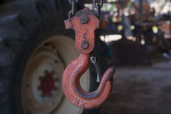 Gancho oxidado Imagem de Stock