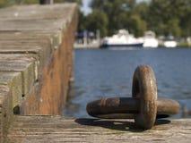 Ganchos de barco fotografia de stock royalty free