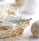 Ganchos de Crochet Foto de Stock Royalty Free