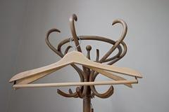 Ganchos retros de madeira Fotografia de Stock