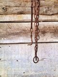 Gancio arrugginito Fotografia Stock Libera da Diritti