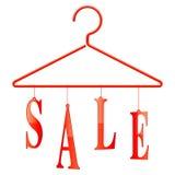 Gancio di vendita Fotografia Stock