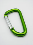 Gancio verde della rottura dell'alluminio del metallo Immagine Stock