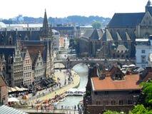 Gand, Belgio immagini stock libere da diritti