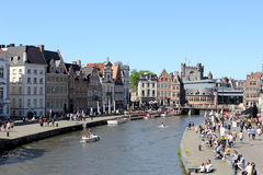 Gand, Belgique Photo stock