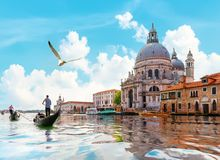 Gand-Kanal in Venedig lizenzfreie stockfotografie