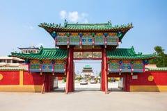 Gandan kloster i Ulaanbaatar royaltyfri fotografi