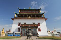 Gandan Monastery Royalty Free Stock Photo
