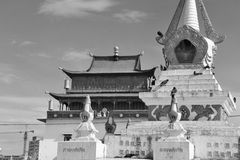 Gandan Monastery Royalty Free Stock Photos