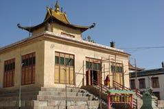 Gandan monastery, Mongolia Stock Image