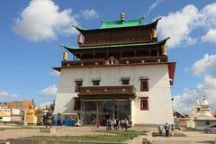 Gandan Monastery Ulaanbaatar Royalty Free Stock Images