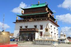 Gandan Monastery Ulaanbaatar Stock Photography