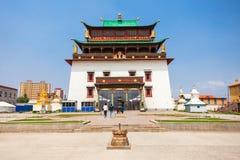 Gandan Monastery in Ulaanbaatar Royalty Free Stock Image