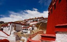 ganden klosteröverblicken tibet Royaltyfri Foto