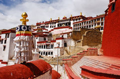 ganden monaster Tibet obraz royalty free
