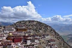 Ganden Monastery in Tibet Autonomous Region, China. stock photography