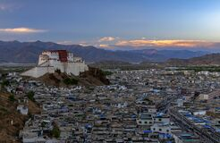 Ganden monastery near Lhasa in central Tibet