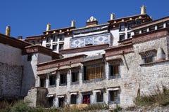 Ganden Monastery in Tibet Royalty Free Stock Images