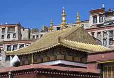 Ganden Monastery in Tibet Stock Photography