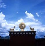 ganden sumtseling的修道院 免版税库存图片