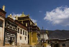 Ganden Sumtseling Monastery in Shangrila, China Royalty Free Stock Photography