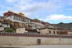 Ganden Sumtseling Monastery in Shangrila, China. Ganden Sumtseling Monastery in Shangrila,Yunnan, China royalty free stock photo