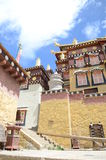 Ganden Sumtseling Monastery in Shangrila, China Royalty Free Stock Photos