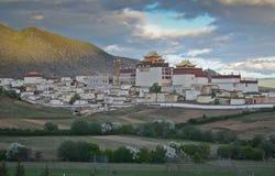 Ganden Sumtseling Monastery in Shangrila, China. Ganden Sumtseling Monastery in Shangrila,Yunnan, China stock photos