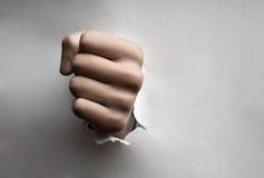Ganderoug punching Royalty Free Stock Photography