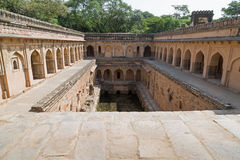 Gandhak Bauli,  Mehrauli village New Delhi, India Royalty Free Stock Photography