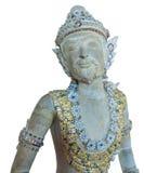 Gandharvas w Tajlandzkim stylu jak odizolowywającego obrazek Fotografia Royalty Free