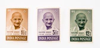Gandhi Imagenes de archivo