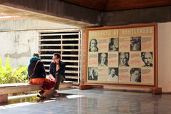 Gandhi Ashram Stock Foto