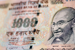 Gandhi banknote from India Royalty Free Stock Photography