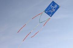 Gandhi Blue Kite Fly Stock Photo