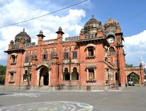 Historic Architecture  Gandhi Hall of Indore City Stock Photo