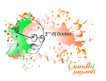 Gandhi Jayanti or 2nd October or Mahatma Gandhi Stock Images