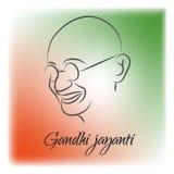 Gandhi Jayanti o 2 de octubre o Mahatma Gandhi Fotografía de archivo