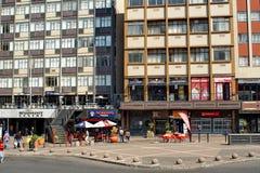 Gandhi kwadrat w CBD Johannesburg fotografia stock