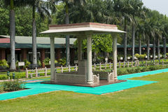 Gandhi Smriti a Nuova Delhi, museo di Mahatma Gandhi, viaggio in India Fotografia Stock