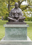 Gandhi Statue at Geneva Royalty Free Stock Photo